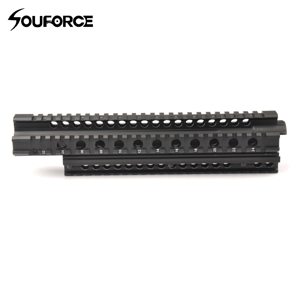 Tactique 29.5 cm FN FAL Quad Rail système de montage Picatinny Rail Handguard Aluminium L1A1 pour la chasse