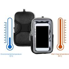 Electric Heat Mobile Phone Case USB Charging Antifreeze Cold-Proof Warm Case Phone Mount Outdoor Cycling Accessories