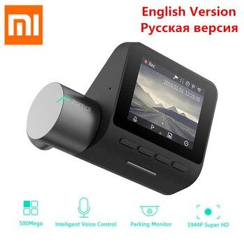 Xiaomi 70mai Cam Traço Pro 1944 P HD DVR Carro Wi-fi Inglês Voice Control Camera 140 Graus Gravador De Vídeo Auto visão noturna