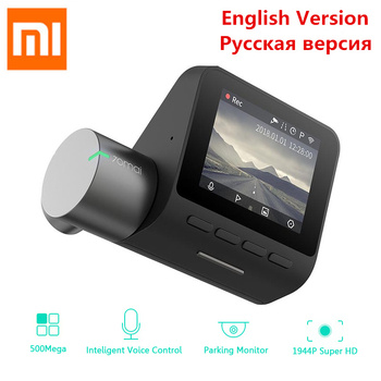 Xiaomi 70mai Dash Cam Pro 1944P HD WiFi samochód DVR angielski głos kontroli kamery 140 stopni kamerka samochodowa widzenie w nocy