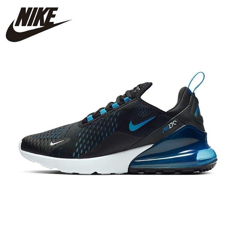 Nike Original Air Max 270 Mans zapatos cojín de aire respirable Anti-deslizamiento deportes zapatillas de deporte # AH8050