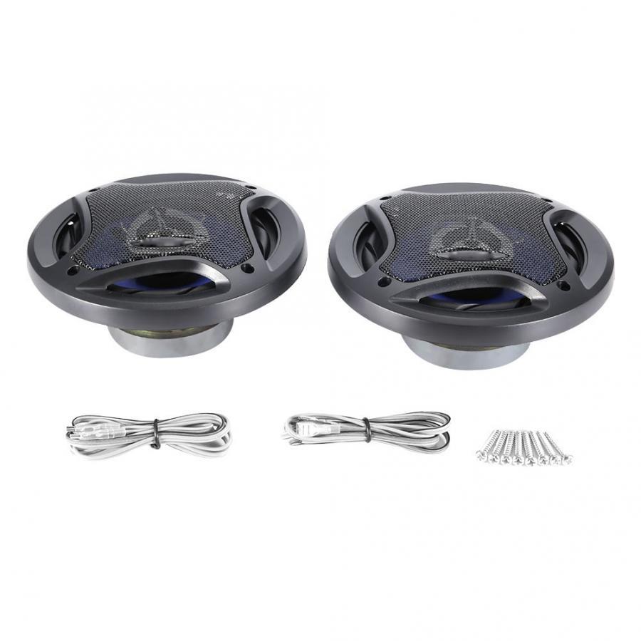 Haut-Parleur Bluetooth 2 pièces Voiture Subwoofer Haut-Parleur Coaxial Fort Musique Audio Stéréo Haut-Parleur 500 W Portable