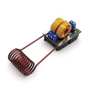Image 4 - ขายร้อน5 12V 120W Mini ZVS Inductionเครื่องทำความร้อนเครื่องทำความร้อนDriver DIYหม้อหุงข้าว + Ignition coil