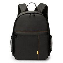 Водонепроницаемый цифровых зеркальных фото мягкий рюкзак сумка чехол для iPad Canon sony Fuji Nikon Olympus Panasonic