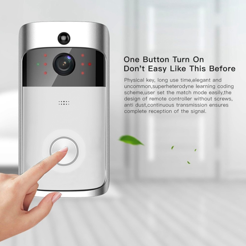 2018 New M3 Wireless Video Doorbell Remote Intercom Home Security Doorphone2018 New M3 Wireless Video Doorbell Remote Intercom Home Security Doorphone