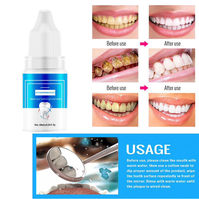 10ml Tooth Whitening Repair Solution Oral Care Hygi In Pakistan