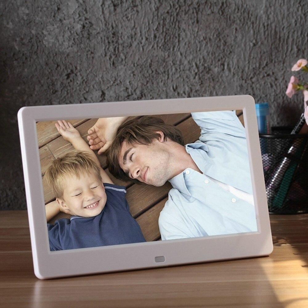 Nouveau 10 pouces écran LED rétro-éclairage HD 1024*600 cadre Photo numérique Album électronique Photo musique film pleine fonction bon cadeau - 2