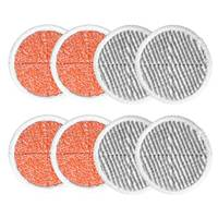 LUDA 8 Pack Spin Mop Pads Replacement For Bissell Spinwave 2124, 2039, 2037 Series Powered Hard Floor Mop
