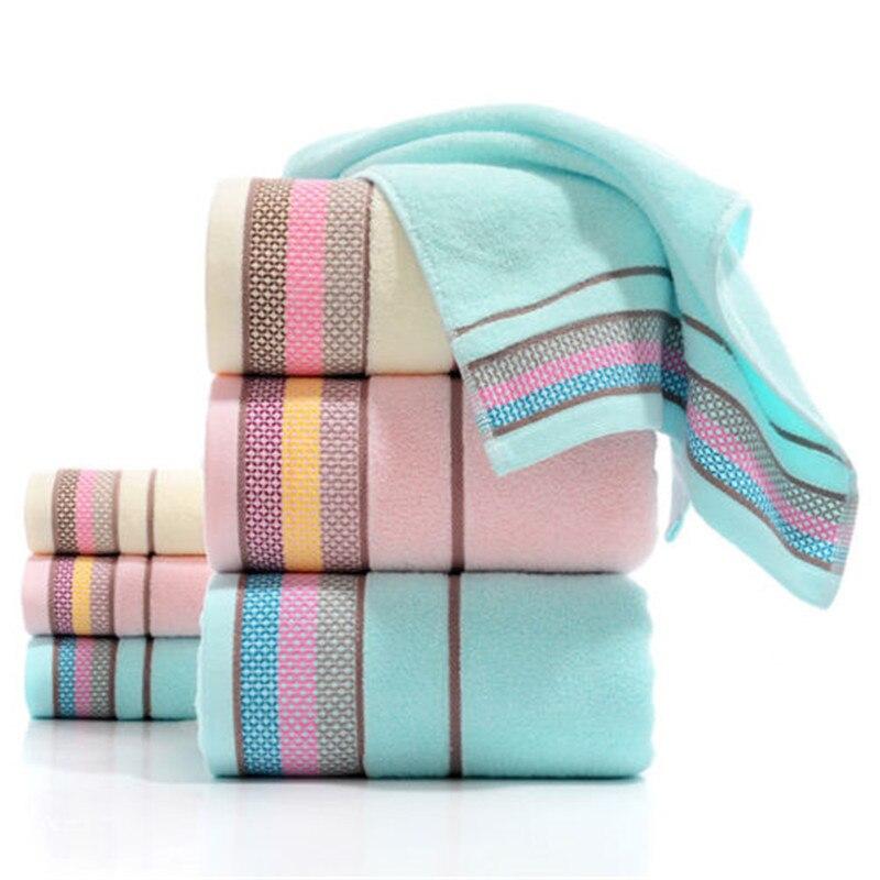 1 Pcs Hause Waschen Tücher Handtücher 100% Baumwolle Weiche 35*75 Cm Waschlappen Bad Dusche Produkte Hause Waschen Tücher Handtücher Heißer Großverkauf