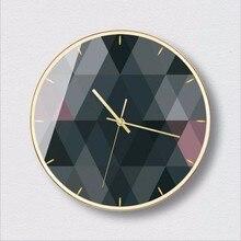 New 12inch/14inch 3D Wall Clock Modern Design Silent Movement Wall Clock Mute Sweeping Seconds Luxury Big Clocks Home Decor