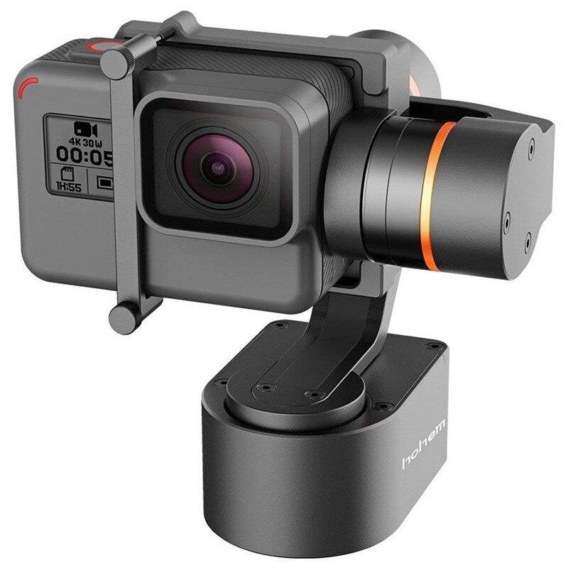 Hohem XG1 3-axe Portable Cardan Stabilisateur App/Bluetooth Sans Fil Télécommande Compatible GoPro Hero 6 5 4 3 Action Caméra