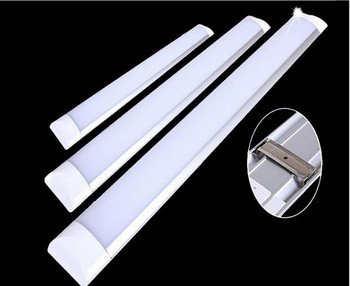 Free Shipping 1ft 10W 2ft 20W 3ft 30W 4ft 40W LED Batten Tube Liner Lamp Tube Light Replace Fluorescent Fixture Ceiling Lighting