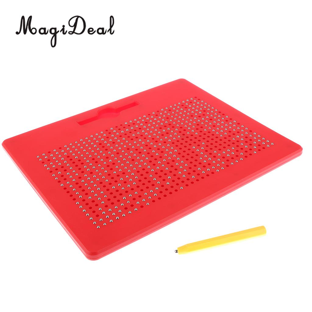 Magnetic Drawing Board for Doodle Draw Pad Tablet Art Toys Kids Writing Sketching Pad Girls Children Educational Gifts Erasable|Drawing Toys| |  - title=
