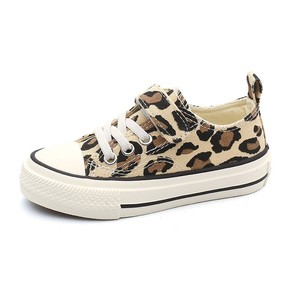 Image 2 - Babaya Children Shoes For Girls Sneakers 2019 Spring New Fashion Kids Canvas Shoes Boys Autumn Student Casual Leopard Shoes