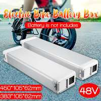 Caixa de armazenamento elétrica da bateria de lítio de bicylce de 48 v 8000mah e e bike para baixo a caixa da bateria do tubo|  -