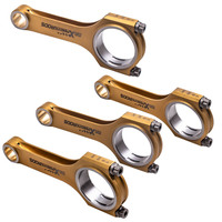 4x Steel Connecting Rod for Mercedes Benz M274 2.0T engine 138.6mm 800+HP