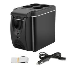 Mini Car Fridge 12V Refrigerator Freezer Heater 6L