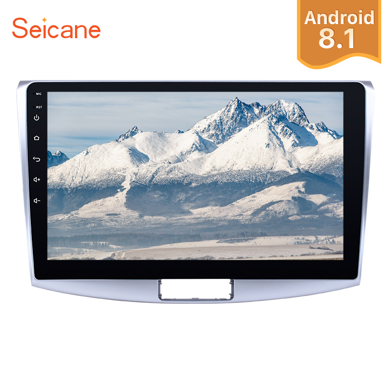Seicane Android 8.1 <font><b>10.1</b></font> inch Car Radio Stereo GPS car Multimedia Player For 2012 2013 2014 <font><b>VW</b></font> Volkswagen <font><b>Magotan</b></font> B7 Bora Golf 6 image