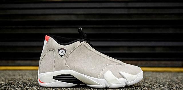 e3a35a69067 KFJ AIR US Jordan Retro 14 Desert Sand Basketball Shoes High Cut Winter  Outdoor Sneaker Orange Heels Increased Footwear
