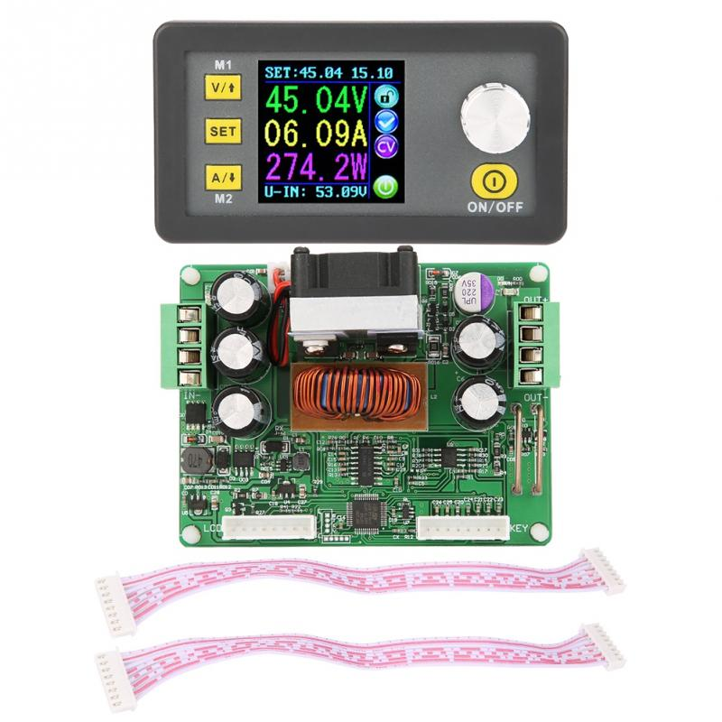 DPS3012/DPS5015/DPS5020 Adjustable Step-down Regulated LCD Digital Power Supply Buck Module