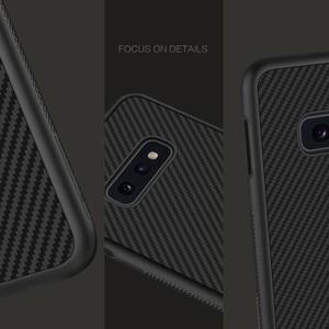 Image 5 - Fibre synthétique Nillkin pour Samsung S10e coque en fibre de carbone PP coque arrière en plastique pour Samsung Galaxy S10e coque luxe 5.8