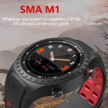 SMA-M1 GPS Sports Watch Bluetooth Call Multi-Sports Mode Compass Altitude Outdoor Smart Clock For Android iOS