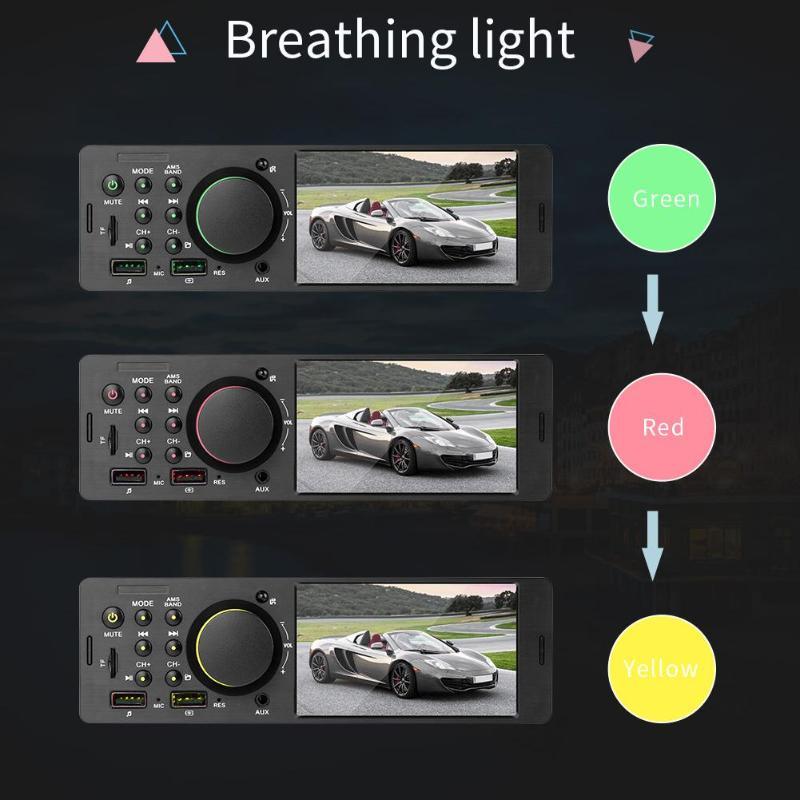 7805 1Din Car Stereo MP5 Player 4.1 Inch HD TFT Screen In-dash With Xiaomi Remote Control FM Radio BT4.0 Dual USB AUX RCA U Disk