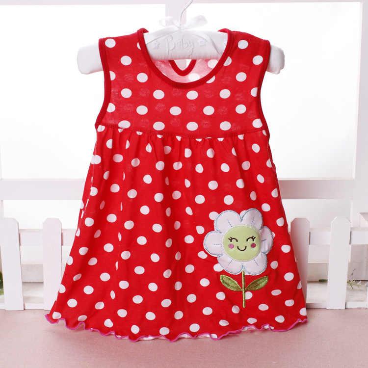 Baby Kleid 2018 Sommer Neue Mädchen Mode Infantile Kleider Baumwolle kinder Kleidung Blume Stil Kinder Kleidung Prinzessin Kleid