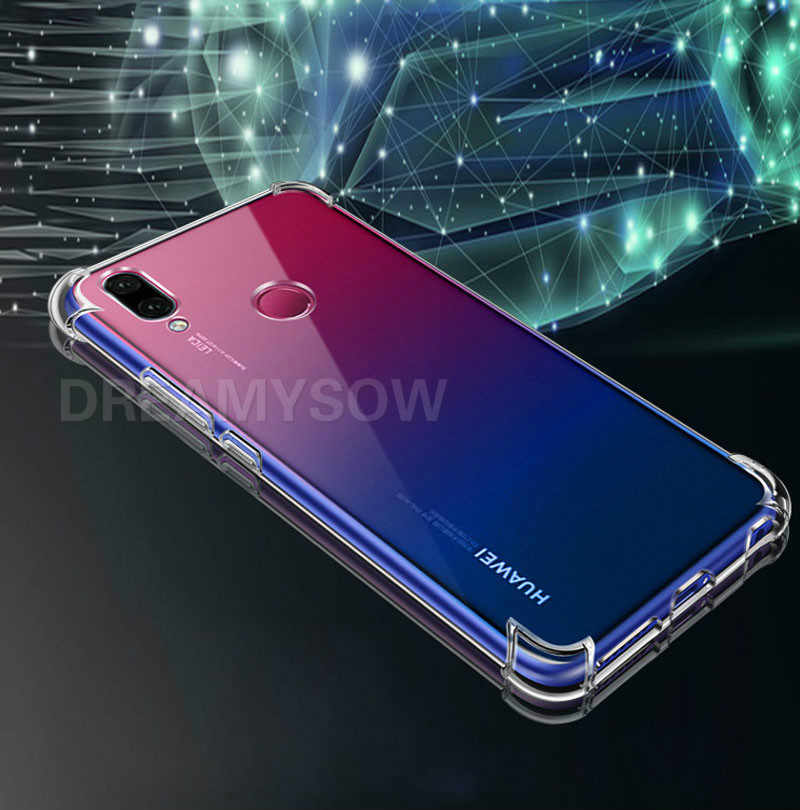 Soft TPU Airbag Anti-Knock Cases For Huawei P Smart Y7 Pro 2019 Nova 4E 4 Honor 7A 7C 5.7 5.99 8X 8C 8A Back Cover Clear Case