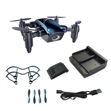 RC Quadrocopter Pocket Dron With 2mp HD Camera Foldable Drone With Gravity Sensor VS H31 S9 S9W S9HW Drone