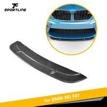 Для BMW F87 M2- передний бампер спойлер разветвители головной бампер углеродное волокно аксессуары