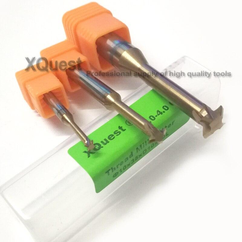 Estanho máquina CNC Metal Duro Fresa R1.2 1.6 2 2.4 3 4 5 6 8 10 12 Único rosca Métrica flauta fresa moinhos