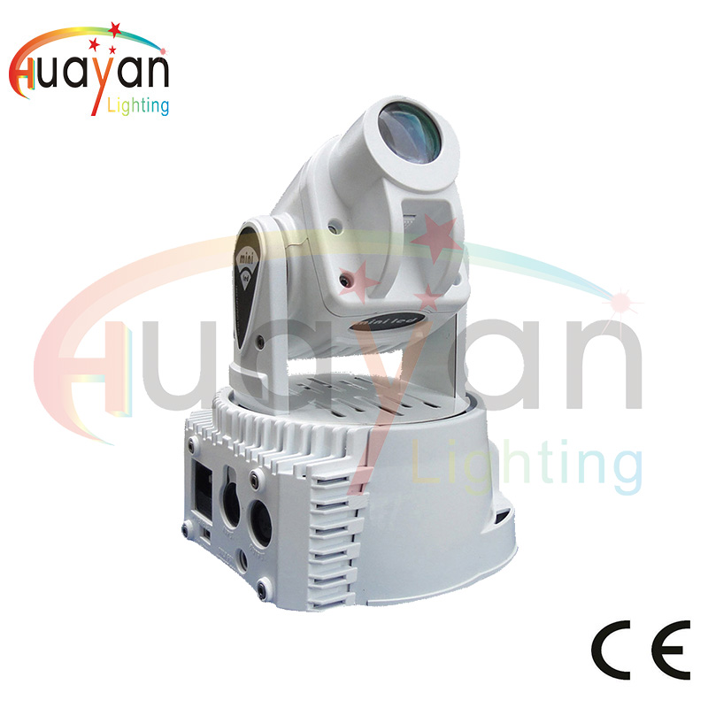 Fast Delivery Mini Spot 15W LED Moving Head Light With Gobos Plate,High Brightness 15W Beam Led Moving Head Light DMX