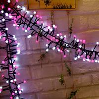 Waterproof 400 Globe LED Firecrackers String Light 8 Modes Christmas Fairy Light for Outdoor Indoor Home Holiday Lighting