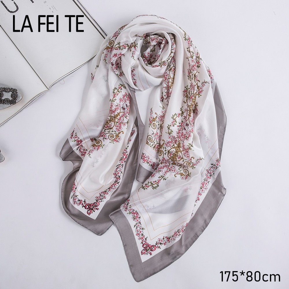 Women/'s Printed Silk Scarfs Ribbon Fashion Hair Ribbons Handbags Scarves 115*5cm