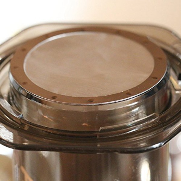 LICG 2 Coffee Metal Filter Reusable Stainless Steel Filter for Aeropress Coffee Maker in Coffee Filters from Home Garden