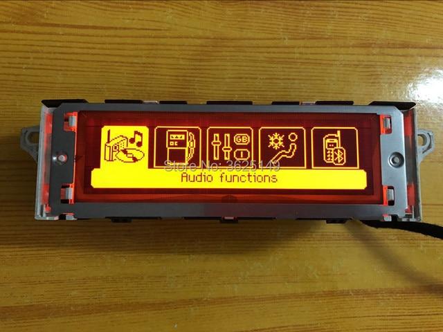 ¡Oferta! Rojo Original pantalla Bluetooth USB A/C Monitor 12pin para Peugeot 307 de 207 de 408 citroen C4 C5 pantalla