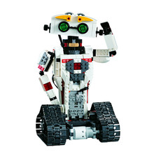 Cada Double E Intelligent Robot Electric Remote Control Scorpion Compatible Assembly Building Block Transformation Boys Gift