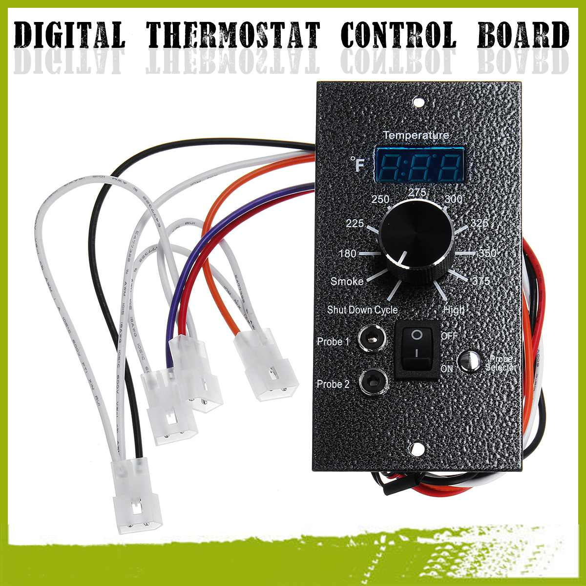 US $22 84 45% OFF|Upgrade Replacement 120V Digital Temperature Controller  Thermostat Board For For TRAEGER Pellet BBQ Grills Integrated Circuits-in