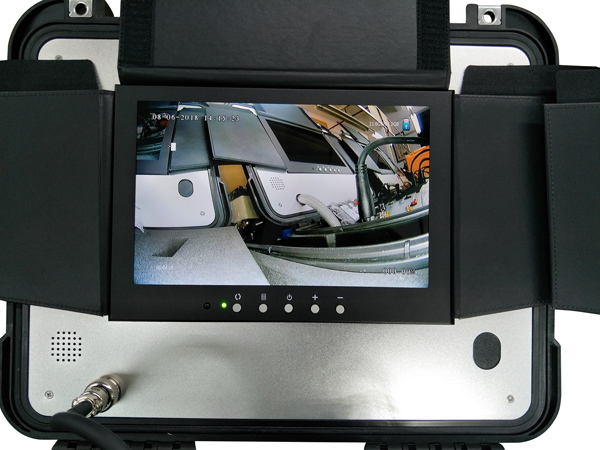 Nuovo Hd 720P Subacquea Video Macchina Fotografica di Controllo con 150 M di Cavo E di Profondità Funzione di Contatore