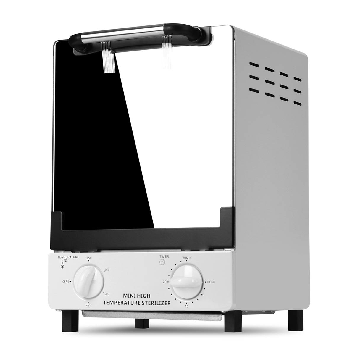 10L High Temperature Sterilizer Box Nail Art Salon Portable Sterilizing Tool Manicure Nail Tool Dry Heat Sterilizer 220V 900W