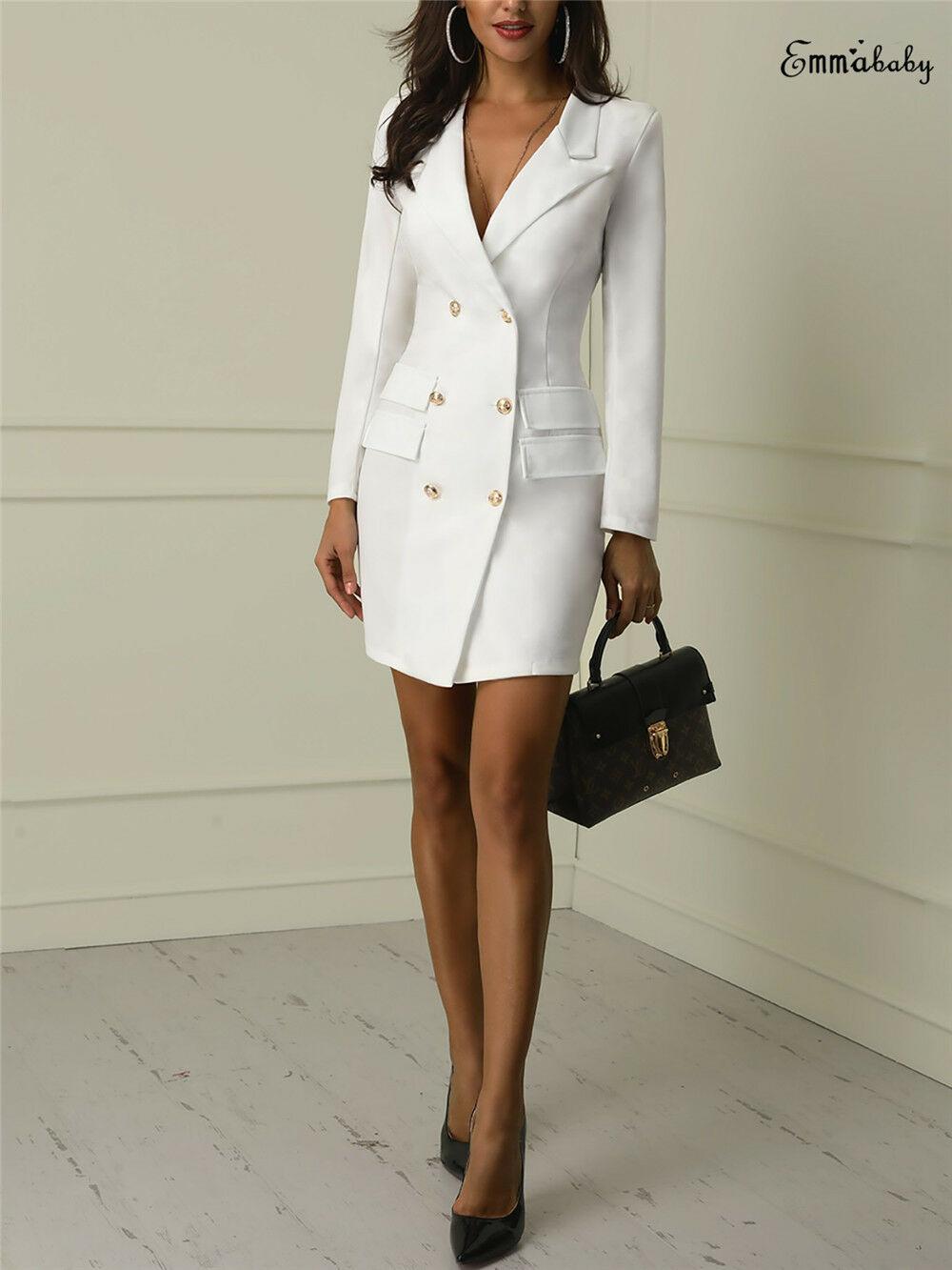 Hot Winter Women's Slim Warm   Coat   Jacket Double Breasted   Coat   Wool Regular Turn   Down   Neck Outerwear