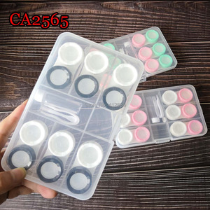 Portable 6 Pairs Contact Lense