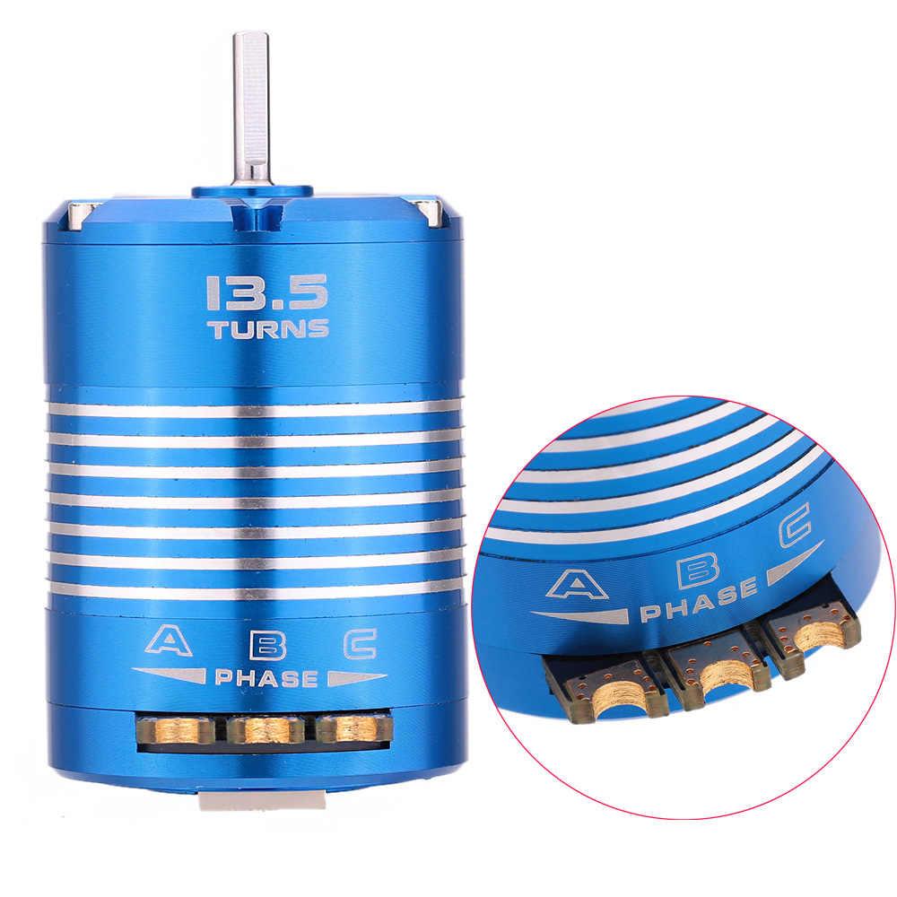 540 de 13,5 T de Sensored Motor sin escobillas RC accesorios para 1/10 coche de Control remoto de alta calidad 540 RC Motor sin escobillas outrunner