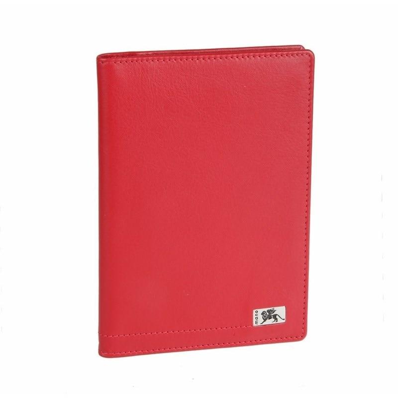 Passport cover Mano Rus8 red цена