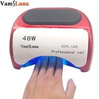 48W Nail Dryer UV lamp for nail Polish UV Gel fast dry CCFL LED Nail tools with Automatic Sensor Salon Beauty Equipment