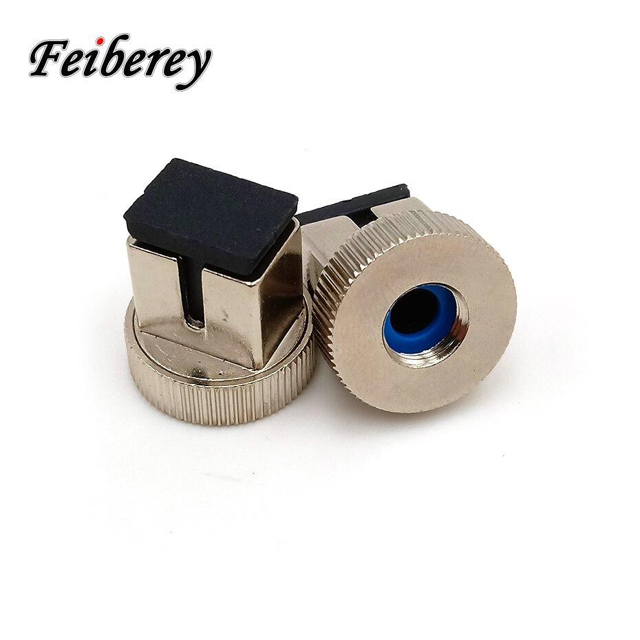 10 pcs FC para SC Adaptador Do Conector de 2.5mm Universal para Conversão FC-SC OPM Medidor de Potência Óptica De Fibra Óptica SC adaptador de cabeça