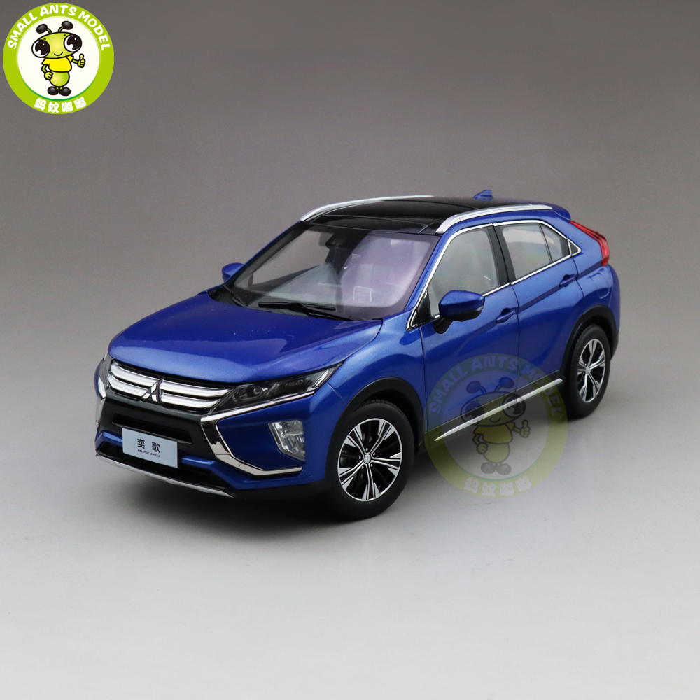 1/18 ECLIPSE CROSS SUV Diecast Metal Car SUV Model Toys kids Boy Girl Gift Collection Blue