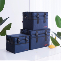 Large Insulated Cooler Bags Women's Thicken Thermal Case Cold Fresh Food Travel Picnic Lunch Pouch Container Tote Supplies Stuff