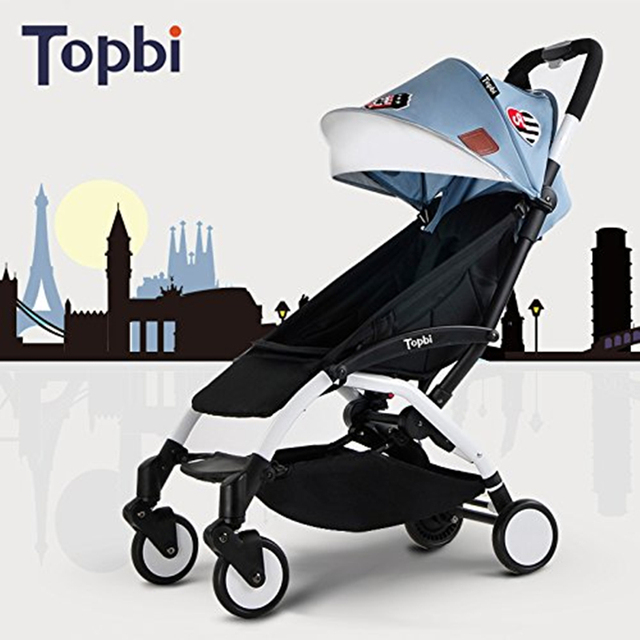 Portable Baby Stroller, Can Be Taken In Airplane Lightweight Folding Pushchair, For 0 to 3 Years Age Prams for Newborns